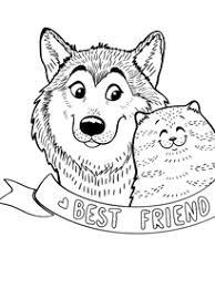 coloriage chien à imprimer sur hugolescargot com