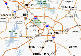 triangle map st raleigh homes