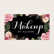 Design Gift Cards For Business Makeup Artist Business Cards U0026 Templates Zazzle