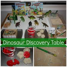 preschool dinosaur activities sensory play ideas