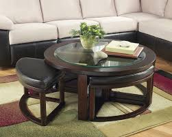 wood coffee table with storage coffee table living room black wood glass top square coffee table