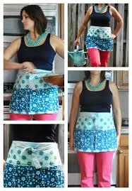 boy oh boy oh boy crafts free half apron pattern and tutorial