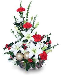 christmas flowers fashioned christmas flower arrangement in ligonier in