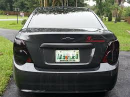 2015 chevy sonic tail light darth vader edition chevy sonic owners forum