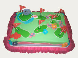 16 best party mini golf images on pinterest golf cakes