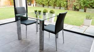 Lydia Black Leather Chrome Chairs Black Leather Dining Chairs Amazon Eichholtz Black Dining Chair
