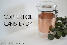 copper kitchen canisters gold detail kitchen canister diy practical and pretty