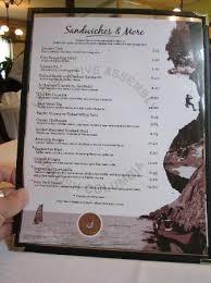 Menu Picture Of Legislative Dining Room Victoria TripAdvisor - Dining room menu