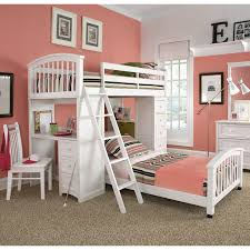 House Bunk Beds Ne Schoolhouse Student Loft Bed White Hayneedle
