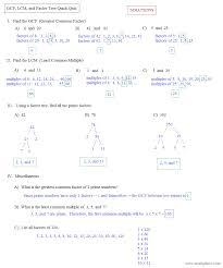 resourceaholic tricks and tips 1 hcf factors multiples worksheet