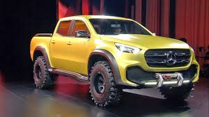 mercedes pickup 2017 mercedes x class pickup concept world premiere youtube