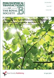 photosynthesis under artificial light philosophical transactions