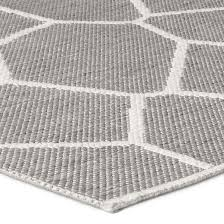 outdoor rug 5 u0027x7 u0027 gray modern by dwell magazine target