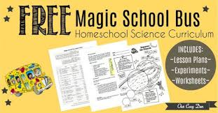 free printable magic bus homeschool science curriculum with