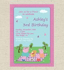 peste 1000 idei despre peppa pig birthday invitations pe
