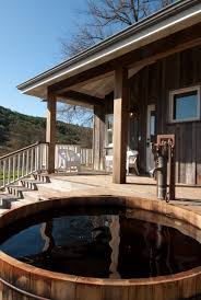 exterior design wood porch railing with wood floor idea and wood