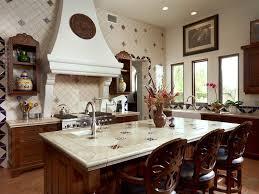 Mexican Kitchen Curtains by Mexican Tile Designs Kitchen Mediterranean With Dark Wood Kitchen