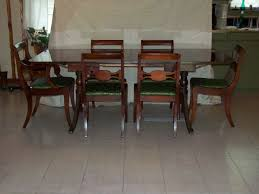 Duncan Phyfe Dining Room Table And Chairs Duncan Phyfe Dining Room Chairs For Exemplary Mahogany Duncan