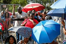 Zim Seeking Queues Of Desperation Zimbabweans Race Against Time For Work Permits