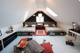 chambre enfant comble design interieur chambre enfant sous combles deux garçons blanc