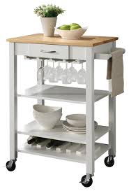 kitchen island cart butcher block kitchen carts w butcher block top a towel rack wine bottle holder