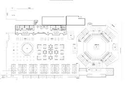 cabana pool bar ink venues lower level floor plan upper level floor plan