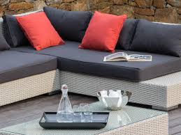 canap r sine tress e salon de jardin 6 places canapé d angle table basse en r