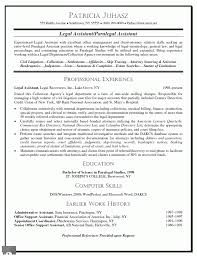 Sample Resume Objectives For Secretary by Paralegal Resume Samples Free Resume Example And Writing Download