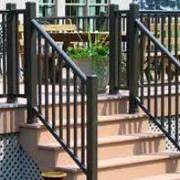 Deck Stair Handrail Exterior Stair Handrail Justsingit Com