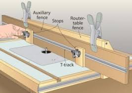 diy router table fence homemade router table auxiliary fence homemadetools net
