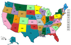 map of usa map usa color major tourist attractions maps map