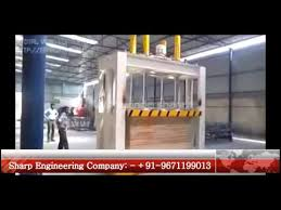 Woodworking Machinery Manufacturers India by Hydraulic Cold Press Machine For Plywood Wood Lamination
