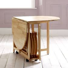 choose a folding dining table for a small space adorable home in