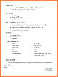 Job Resume For Freshers by 7 Cv For Fresher Teacher Job Bussines Proposal 2017