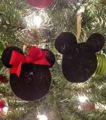 mickey and minnie mouse ornaments r r workshop lines across