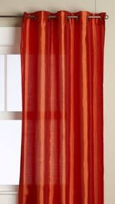 Orange Panel Curtains Palmetto Square Rod Pocket Sheer Panel Rod Pocket Squares And