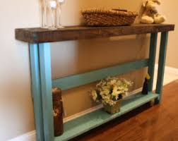 8 Foot Sofa Table Unique Primitive Reclaimed Recycled By Uniqueprimtiques On Etsy