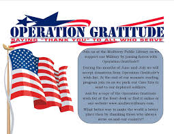 Make A Flag Online Operation Gratitude Donations Needed U2013 Mulberry Public Library