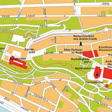 Map Of Budapest Map Budapest Budavár Hungary City Center Central Downtown Maps