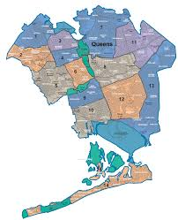 New York Zip Code Map Manhattan by Nycdata Maps Boroughs With Community Districts
