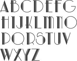 art deco calligraphy google search typographie pinterest