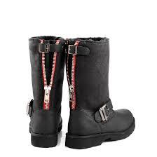 where to buy biker boots lined buffalo biker boots in black buy online in buffalo online shop