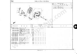 43100 by Motorcycle Parts Honda Gorilla Z50j 250 260 Ab27 100 110 140