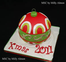 15 amazing ornament cakes