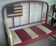 Bench Made From Bed Headboard How To Make A Bench And Planter From Old Bed Frames Flea Market