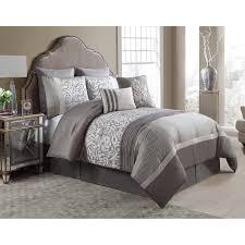 Plum Bed Set Vcny Arcadia 8 Comforter Set Hayneedle