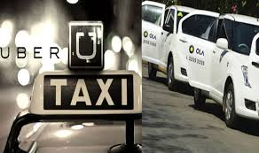 Uber Reception Desk Ola Uber Out Of Gst Purview India Com