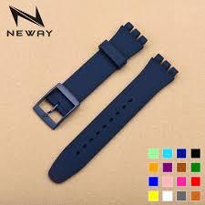 bracelet montre silicone images Neway 17mm 19mm silicone regarder la bande sangles montre jpg