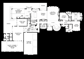Floor Plan Mansion Mascord House Plan 2479 The Belle Reve