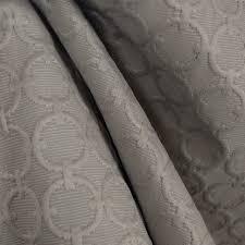 Waverly Upholstery Fabric Waverly Full Circle Sterling Grey Geometric Upholstery Fabric